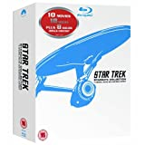 The Complete Star Trek Movies Blu Ray Box Set Collection: Part 1: The Motion Picture / 2: The Wrath of Khan / 3: The Search for Spock / 4: The Voyage Home / 5: The Final Frontier / 6: The Undiscovered Country / 7: Generations / 8: First Contact / 9: Insu