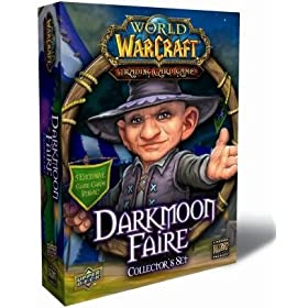 World of Warcraft TCG WoW Trading Card Game Darkmoon Faire Collector's Set