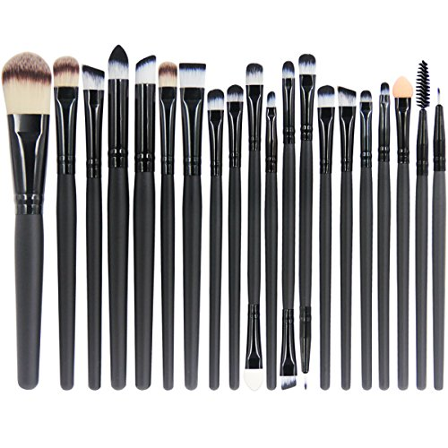 EmaxDesign 20 Pieces Makeup Brush Set Professional Face Eye Shadow Eyeliner Foundation Blush Lip Makeup Brushes Powder Liquid Cream Cosmetics Blending Brush Tool (12 Piece Make Up Brush Set compare prices)