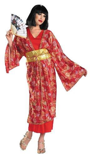 Deluxe Geisha Adult Costume - Womens Large (12-14)