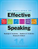 The Challenge of Effective Speaking (0495502170) by Verderber, Rudolph F.