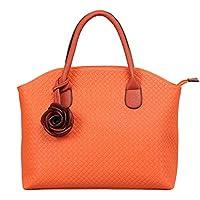 Hynes Victory Woven Pattern Tote Handbag
