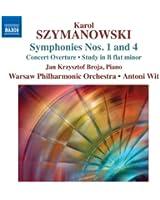 Szymanowski : Symphonies n° 1 et n° 4