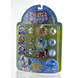 Squinkies Disney Pets 9-Piece Bubble - 101 Dalmatians With Tiny Toys
