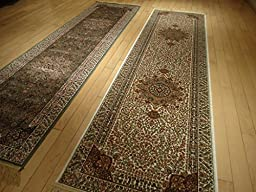 Silk White Rugs Persian Tabriz Rugs 2x8 Area Rugs for Hallway 2x7 Long Narrow Rug Ivory Cream Carpet Area Rugs Runner Rugs Traditional 2x7 Luxury Kitchen Rugs Kenareh Runner (2\'x8\' Hallway Runner)