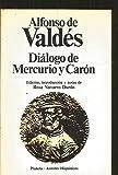 img - for Dialogo de Mercurio y Caron (Autores hispanicos) (Spanish Edition) book / textbook / text book