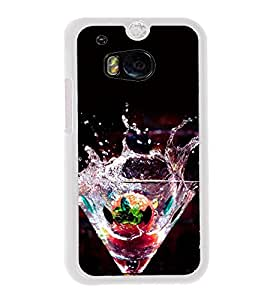 Cocktail Mocktail 2D Hard Polycarbonate Designer Back Case Cover for HTC One M8 :: HTC M8 :: HTC One M8 Eye :: HTC One M8 Dual Sim :: HTC One M8s