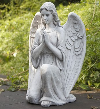 Garden Angel Statue Statuary Outdoor Decor