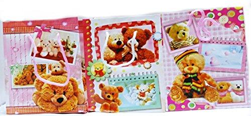 6 Geschenktaschen Klein mit Teddybären, Mitbringseltüte