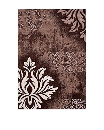 Special Carpets Teppich Brillance / Fleuris braun