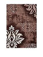Special Carpets Alfombra Brillance / Fleuris (Marrón)