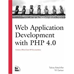 Web Application Development with PHP (Book & CD Rom)