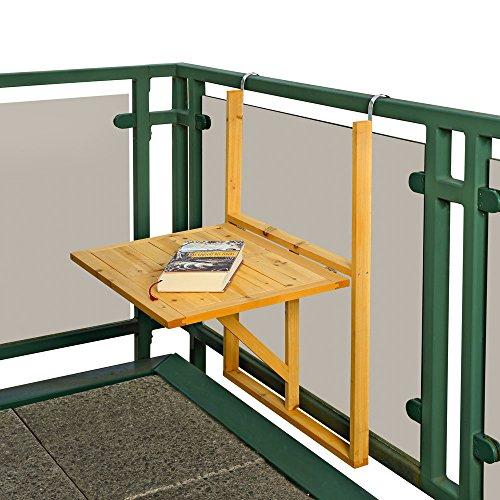 Klappbarer Balkon H Ngetisch 87 Cm X 64 Cm X 45 Cm H X B X T