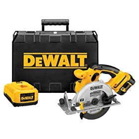 DEWALT DCS390L  18-Volt Cordless XRP Lithium-Ion Circular Saw Kit