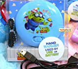 Disney Toy Story Three Eyes Alien Electric Reusable Pocket Hand Warmer - USB / Battery