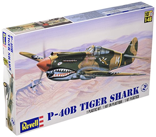 Revell 1:48 P - 40B Tiger Shark Plastic Model Kit (Wwii Model Airplanes compare prices)