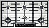 T29S96N1-NEFF-Table-de-cuisson-Gaz-inox-90-cm-6-brleurs-2-wok-33-kW-indication-chaleur-rsiduelle-boutons-thermocouple-inox