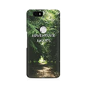 Mobicture Adventure Waits Premium Printed Case For Huawei Nexus 6P