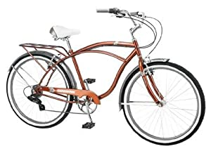 Schwinn 26 Clairmont Mens Cruiser Bike, Brown by Schwinn