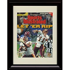 Framed Doug Williams Sports Illustrated Autograph Print - Super Bowl XXII -... by Framed Sport Prints