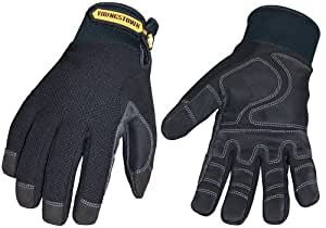Youngstown Glove 03-3450-80-XXL Waterproof Winter Plus Performance Glove XXLarge, Black
