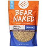 Bear Naked All Natural Granola, Peak Protein, 12-Ounce Pouches (Pack of 6) ~ Bear Naked