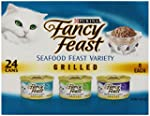 Fancy Feast Wet Cat Food, Grilled, Se...