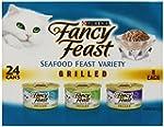 Fancy Feast Wet Cat Food, Grilled, Se...