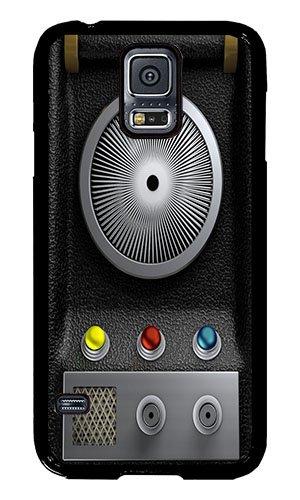 Samsung S5 Case AOFFLY® Star Trek Communicator Black PC Hard Case For Samsung S5