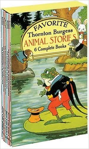 Favorite Thornton Burgess Animal Stories Boxed Set (Sets)