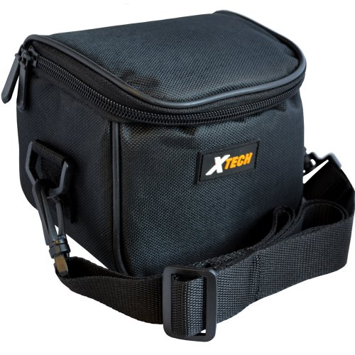 Xtech Well Padded Digital Camera Carrying Case with Inner Pocket & Neck Strap for Canon Powershot G1 X, G10, G12, G15, G16, SX10IS, SX20IS, SX30IS, SX40 HS, SX50 HS, SX500 IS & SX510 HS Digital Cameras (Cameras Sx 50 compare prices)