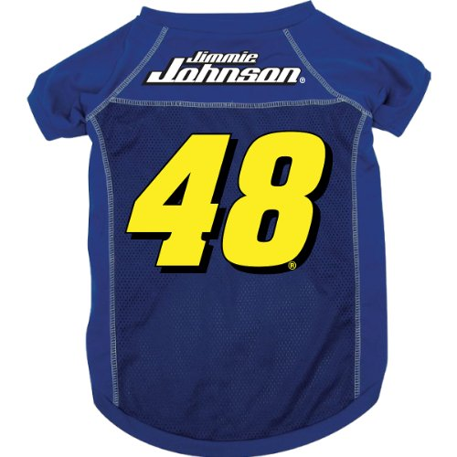 HUNTERMANUFACTURING Jimmie Johnson #48 Mesh Pet Jersey - Royal Blue
