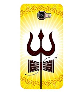 Vizagbeats Trisul And Damarukh Back Case Cover For Samsung Galaxy A9