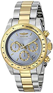 Invicta Men's ILE9212ASYB Speedway Analog Display Japanese Quartz Two Tone Watch