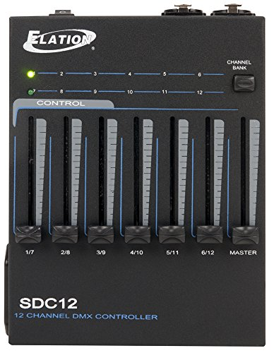 Learn More About ADJ Products SDC12 DMX512 12-Channel Dimmer Controller