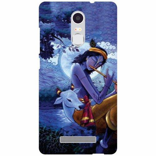 newest 141e0 07fff Xiaomi Redmi Note 3 Back Cover - Krishna Designer Cases