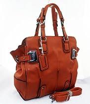 Hot Sale 219 Designer Inspired 2013 Tote Handbag (Orange)