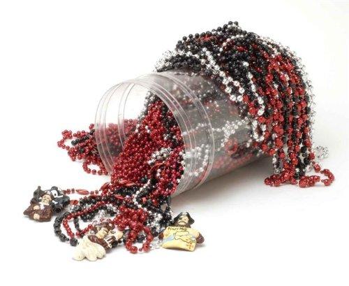 Forum Novelties Bucket of Pirate Beads 72 Pieces