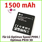Original LG FL-53HN Akku Li-Ion 1500 mAh for LG Optimus Speed P990 / Optimus P920 3D