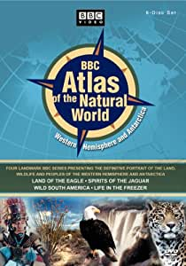 BBC Atlas of the Natural World - Western Hemisphere and Anarctica (Land of the Eagle / Spirits of the Jaguar / Wild South America / Life in the Freezer)