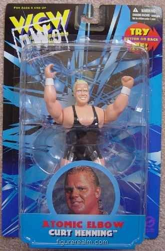 Curt Henning (Atomic Elbow) from Wrestling - WCW (San Francisco) Action Figure