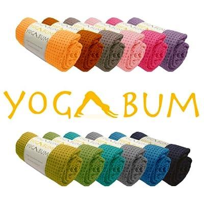 Yogabum rutschfeste Premium-Yoga-Matte Handtuch in 17 Farben