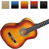 Guitare classique acoustique - 4/4 - MARRON - en bois - DIVERSES COULEURS AU CHOIXpar Jago