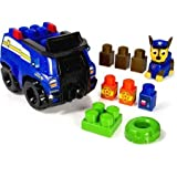 Ionix Jr. Paw Patrol, Chases Cruiser, Includes 1 Chase Figure, 1 Police Cruiser, 10 Blocks