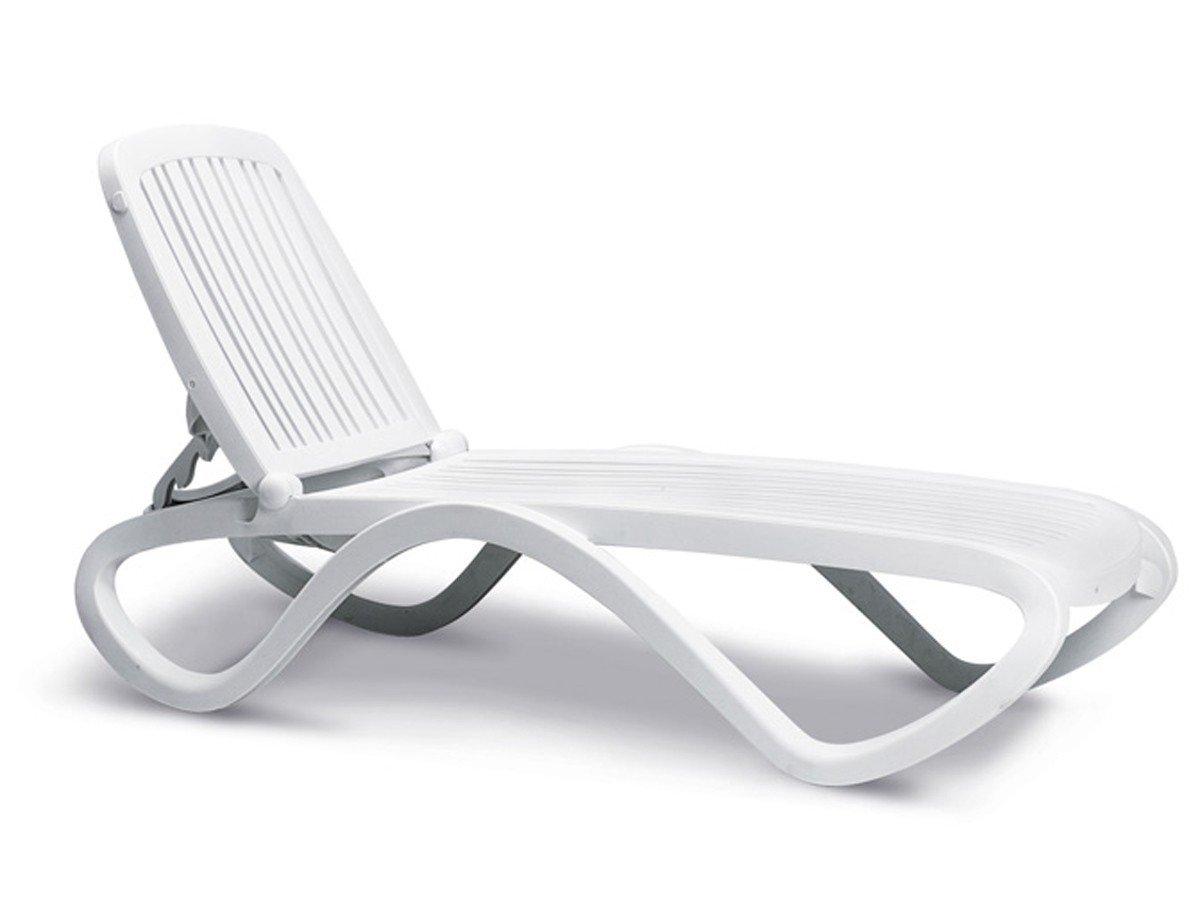 BEST 18410300 Stapelliege Tropico, weiß günstig kaufen