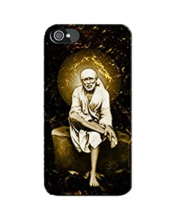 EU4IA SAIBABA MATTE FINISH 3D Back Cover Case For iPhone 4 - D241