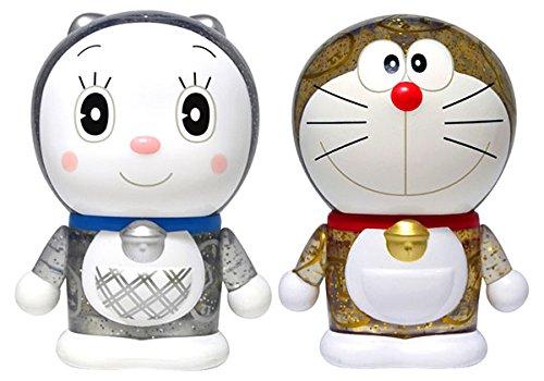 Variarts 099/100 2 Doraemon & Dorami Complete Scale Figure Character Model Set Gold Silver Fujiko F Fujio Runa
