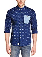 PICTURE ORGANIC CLOTHING Camisa Hombre Smoker (Azul)
