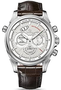 NEW OMEGA DeVILLE RATTRAPANTE MENS WATCH 422.53.44.51.02.001