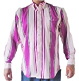 Western Frontier Mens Long Sleeve Shirt 100% Cotton Made in USA